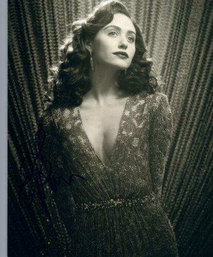 Emmy Rossum Signed Autographed 8x10 Photo Shameless Phantom of the Opera COA VD