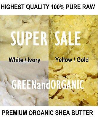 5 Lbs African Shea Butter 100% Pure Raw Organic Unrefined  Bulk Wholesale -