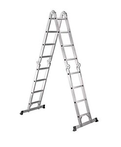 Master Craft 17 foot multi-configuration ladder