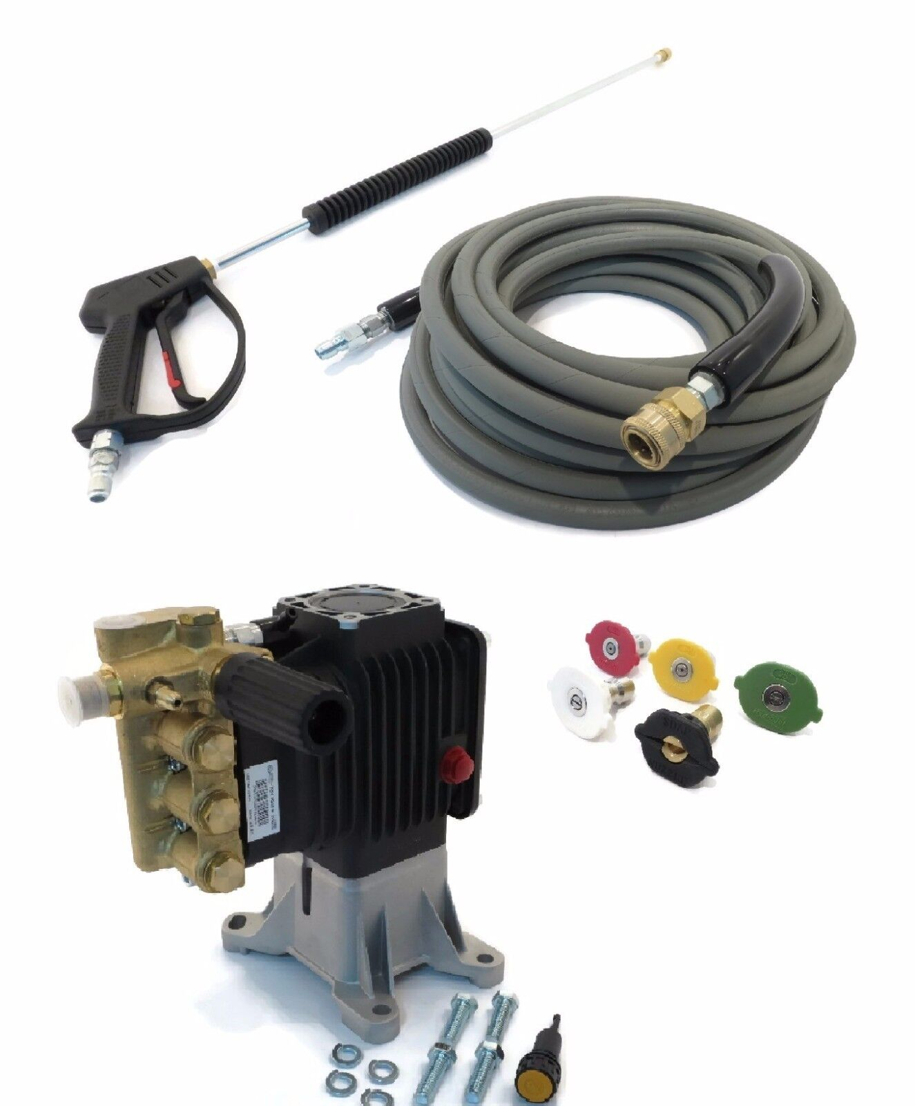 4000 Psi Ar Power Washer Pump Amp Spray Kit Rsv 4g40 Ez
