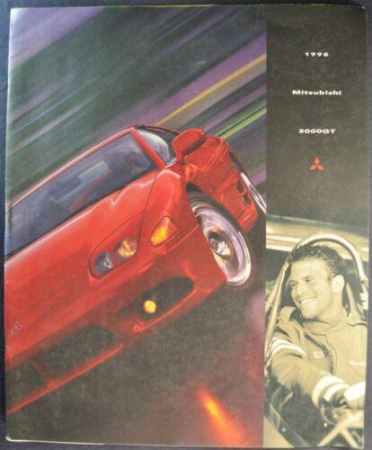 1998 Mitsubishi 3000GT Large Catalog Brochure VR-4 SL Coupe Nice Original 98