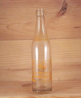 Vintage ZILL'S BEST MINNEKAHTA ROOT BEER ACL Indian Soda Bottle RAPID CITY SD