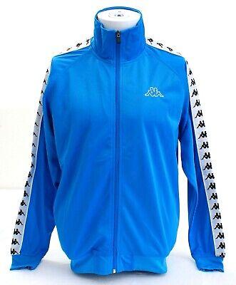 Kappa Blue & White Zip Front Track Jacket Men's NWT
