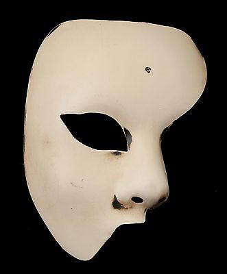 Mask Venice Ghost of the Opera Ecru Genuine Authentic V45 870