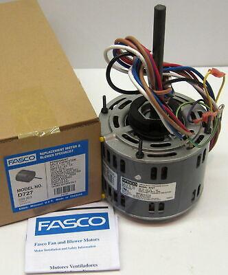 1/3 hp 1075 RPM 3-Speed 115 Volts 5.6 Diameter Fasco Furnace