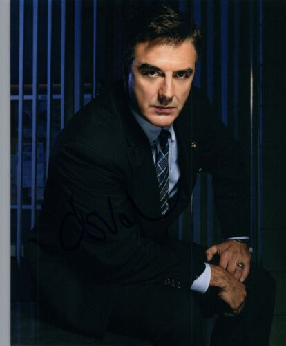 Chris Noth Signed Autographed 8x10 Photo Law & Order Sex and the City COA VD