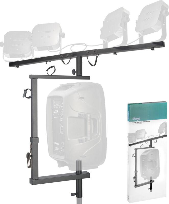 Stagg T-bar lighting extension for speaker stand SPS2LIS Steel