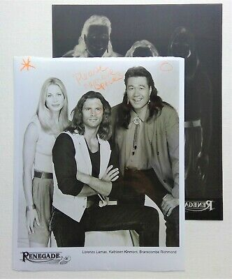 RARE TEST PHOTO PROOF from the show RENEGADE (LORENZO LAMAS) + ACTUAL SLIDE NEG!