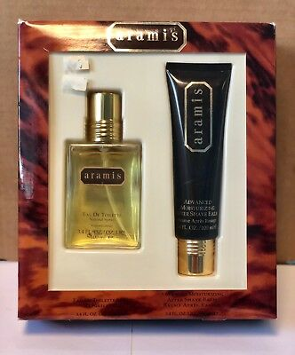 ARAMIS FOR MEN 2 PIECES GIFT SET:EDT Spray 3.4 oz + After Shave Balm 3.4 oz