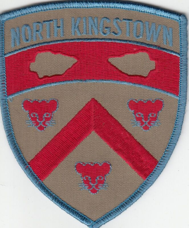 NORTH KINGSTOWN POLICE PATCH RHODE ISLAND RI