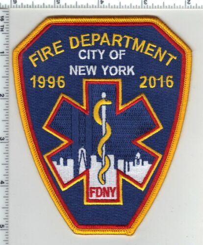 New York City 20th Anniversary of the Fire Dept & EMS Merger (1996 - 2016)