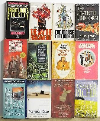 12 books POPULAR NOVELS BEST SELLERS Great Stories Lot #A536 Free US S/H