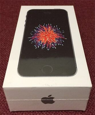 Brand New Apple iPhone SE  32GB AT&T - SIM included - Gray - 1yr Apple Warranty!