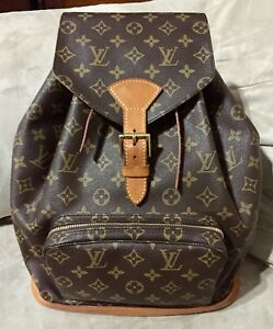 LV Montsouris Backpack GM *Authentic*