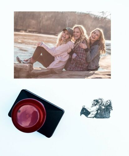 Custom+Made+Rubber+Ink+Stamp+From+Your+Photos+Could+Be+For+Friends+Couple+Family