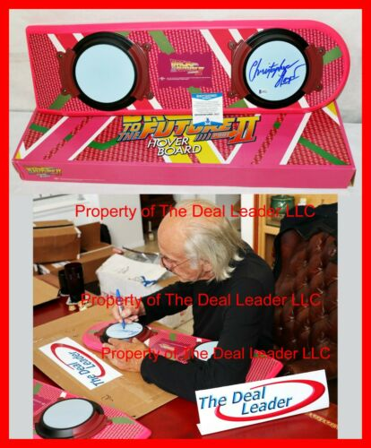 🔥 Christopher Lloyd Back To The Future 2 Doc signed Hoverboard BAS Beckett PSA