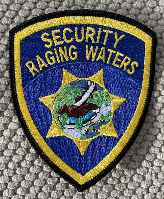 """Security Raging Waters  Patch 4 1/2"""""""