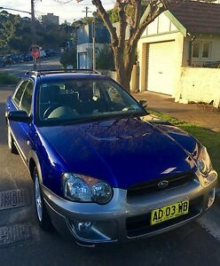 2003 Subaru Impreza Hatchback in excellent condition Neutral Bay North Sydney Area Preview