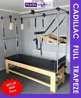 NEW DEMO PILATES FULL TRAPEZE CADIALLAC - PERFECT FOR REHAB Helensvale Gold Coast North Preview