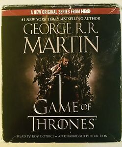 Game of Thrones Audiobook on CD