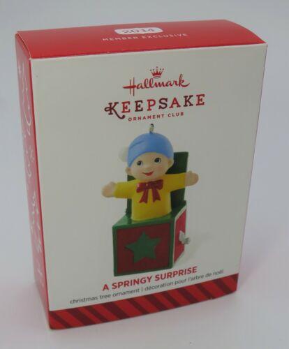 """Hallmark Keepsake Member Exclusive """"A Springy Surprise"""" Ornament * 2014* NOB"""