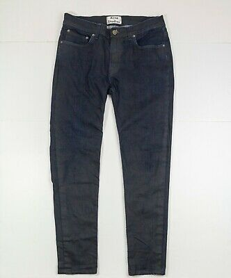 Acne Studios Ace Commander Denim Pant Jeans Slim Stretchy Mens 32x32