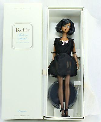 Barbie Fashion Model #5 Silkstone African American Black AA Lingerie Doll Ltd Ed
