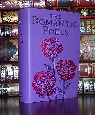 The Romantic Poets Keats Byron Wordsworth Poems Deluxe Soft Leather Feel Edition