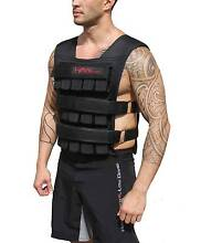 Weight Vests Black Camo 15kg 30kg gym equipment strength Taren Point Sutherland Area Preview