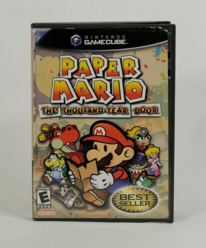 Paper Mario: The Thousand-Year Door (GameCube,2004) Case only. NO DISC NO MANUAL
