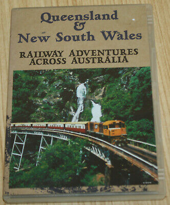 Queensland & NSW Railway Adventures Across Australia DVD