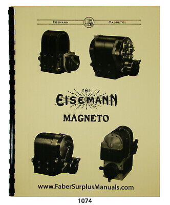 Eisemann Magnetos Ignition Apparatus Types G Gs Gr Gn More Manual 1074