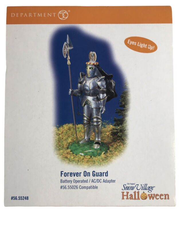 """Department 56 Halloween """"Forever On Guard NIB!"""