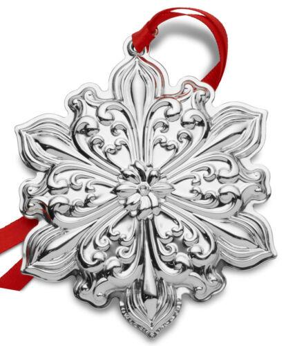 Towle Old Master Annual Sterling Snowflake Ornament 2019 NIB