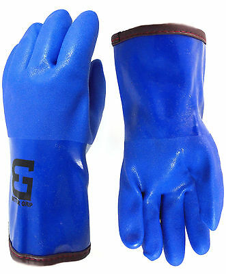 Bettergrip Pvc Winter Gloves Chemical-resistant Waterproof Lined -bgwinterb