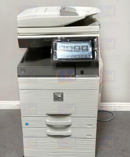 Sharp Mx-5070n A3 Color Laser Copier Printer Scanner Mfp 50 Ppm 4070n 6070n