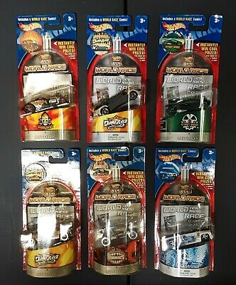 WORLD RACE HOTWHEELS HIGHWAY 35 / SIX [6] CAR COLLECTION