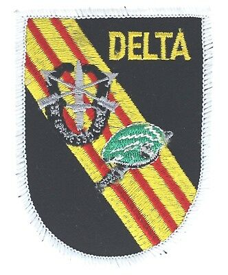 ARMY DELTA FORCE SPECIAL FORCES GREEN BERET EMBROIDERED PATCH