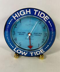HOWARD MILLER HIGH LOW TIDE MATE 3 CLOCK 645-156 DESK TABLE QUARTZ EAST COAST