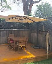 Ikea Parasol / Cantilever Umbrella Riverview Lane Cove Area Preview