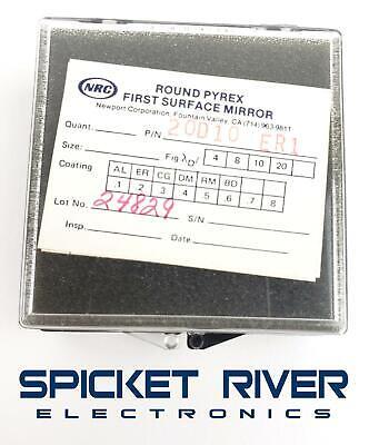 Newport Corporation 20d10 Er1 Round Pyrex First Surface Mirror 21172