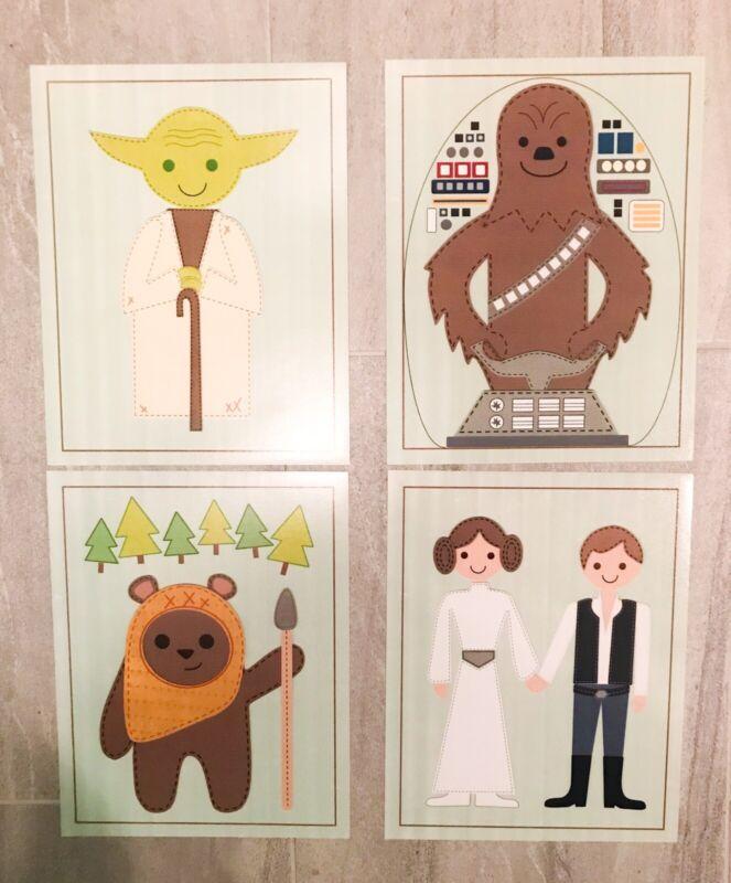 Star Wars Prints Nursery Decor