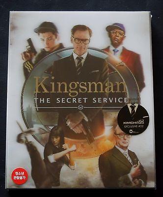 KINGSMAN - KIMCHIDVD EXCLUSIVE #22B LENTICULAR BLU-RAY STEELBOOK * NEW - KIMCHI