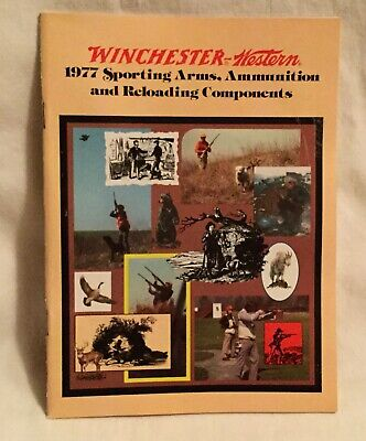 1981 Winchester Western Sporting Arms and Ammunition Catalog VTG Guns Specs