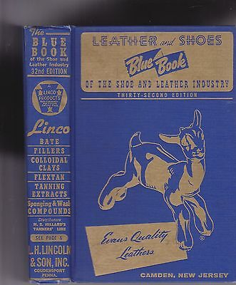 Leather And Shoes Blue Book Of The Shoe And Leather Industry
