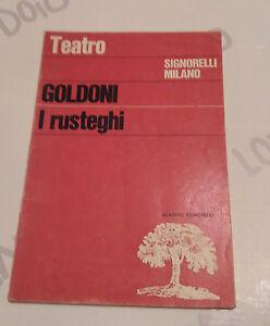 Teatro-Carlo-Goldoni-I-Rusteghi-I-classici-Signorelli-Milano-1970