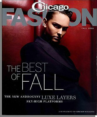 Chicago Magazine Fashion - 2006, Fall - The New Androgyny Luxe Layers