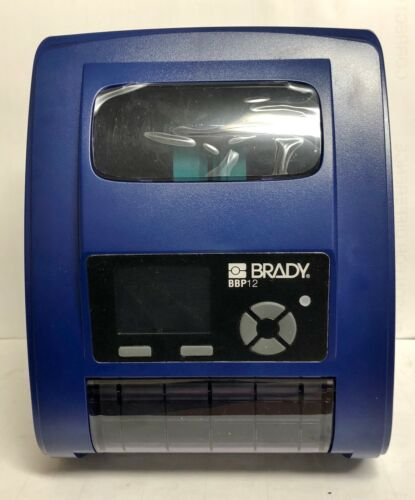 Brady Thermal Bar Code Label Printer BBP12  #10755