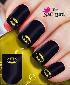 Nail Wraps Nail Decals Nail Transfers Nail Art 20 Cool Retro Batman