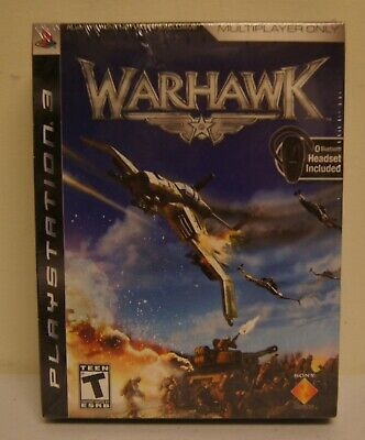 New! Warhawk [Jabra Bluetooth Headset Bundle] (Sony PlayStation 3, 2007) for sale  Shipping to India